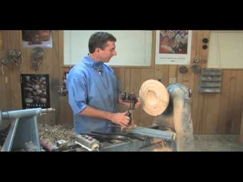 Mike Mahoney on the McNaughton Center Saver (woodturning DVD preview)