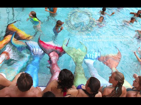 Live Mermaid Performer Pool Party Entertainer Real-Life Mermaid