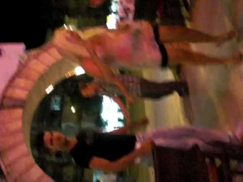 Dancing at Elvis (resturant) Alanya- Turkey