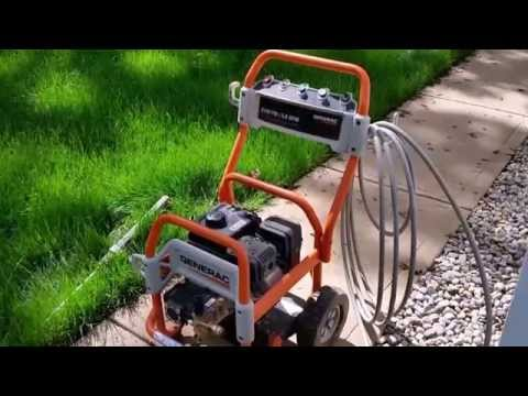 Generac Pressure Washer Review.