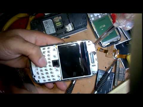How To Disassembly BlackBerry Curve 9320