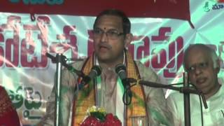 Talk on Vedamulu by Sri Chaganti Koteswara Rao garu at Tanuku