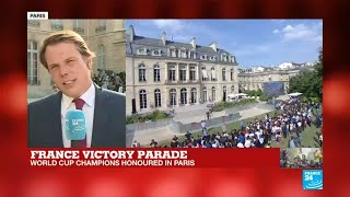 Young fans to meet French football players at Élysée Palace