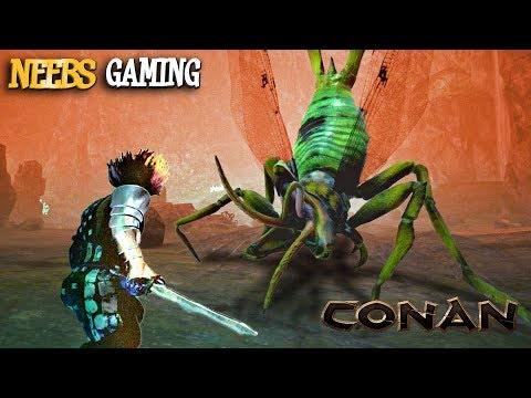 Conan Exiles - HIVE QUEEN BATTLE