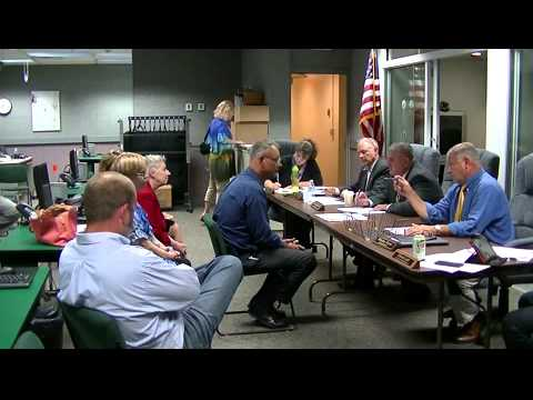Geauga County Commissioners' Meeting, 8/27/2015