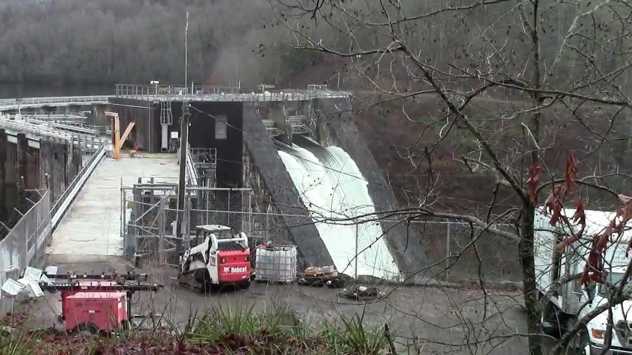 Lake Santeetlah Dam Santeetlah Dam Release