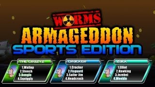 Worms Armageddon: SPORTS EDITION!