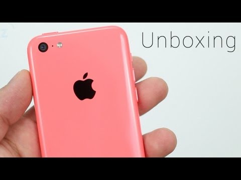 Pink iPhone 5c Unboxing, Hands On