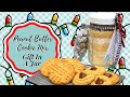 PEANUT BUTTER COOKIE MIX!! GIFT IN A JAR!! HOMEMADE HOLIDAY!!
