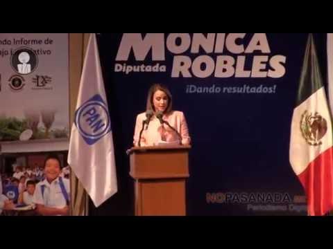 Estoy aquí en Navojoa dando resultados: Mónica Robles