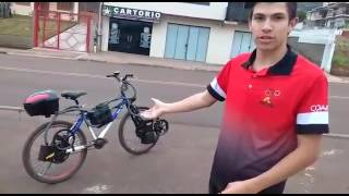 Bicicleta elétrica caseira 1