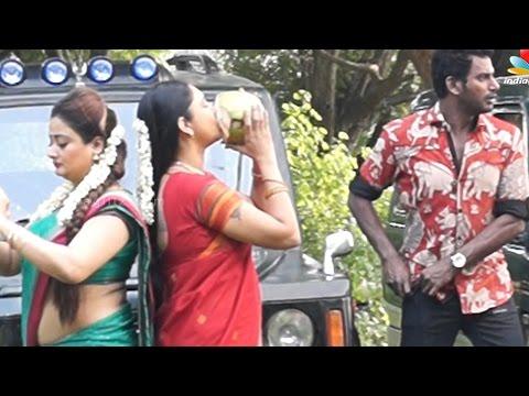 Aambala Pollachi Shooting Spot | Vishal, Hansika Motwani, Sundar C , Kiran Rathod | Making video