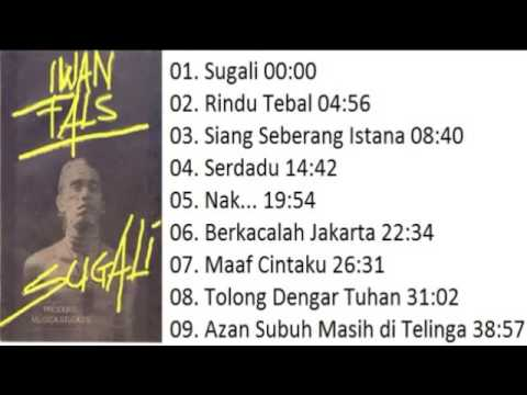 FULL ALBUM Iwan Fals SUGALI 1984