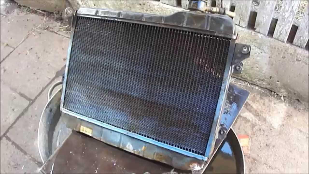 Ремонт радиатора уаз своими руками 44