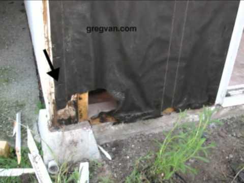 Plywood Siding Installation Bottom Plywood Siding Damage