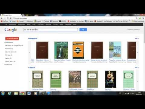 Como descargar libros de Internet. GOOGLE BOOKS.