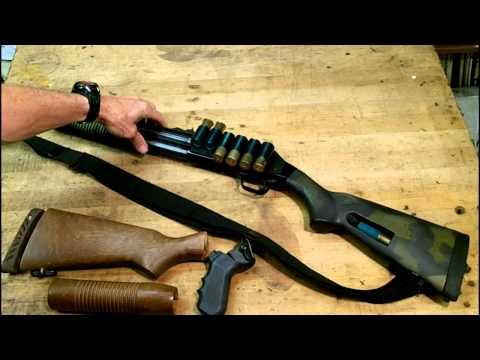 Mossberg 500 590 pump shotgun