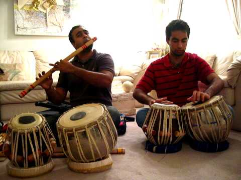 Bansuri Flute And Tabla Instrumental video