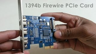 1394b Firewire PCIe Card 3 External Firewire 800 IEEE Port PCI Express Card