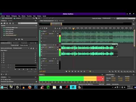 ¡Como grabar una canción de Rap en Adobe Audition CC 2014