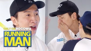 Lia Kim is So Strict! We Can Use the Restroom after We Do It 100 times [Running Man Ep 455]