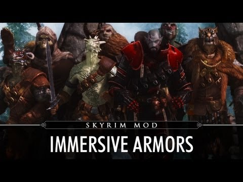 Skyrim Mod Feature: Immersive Armors by hothtrooper44