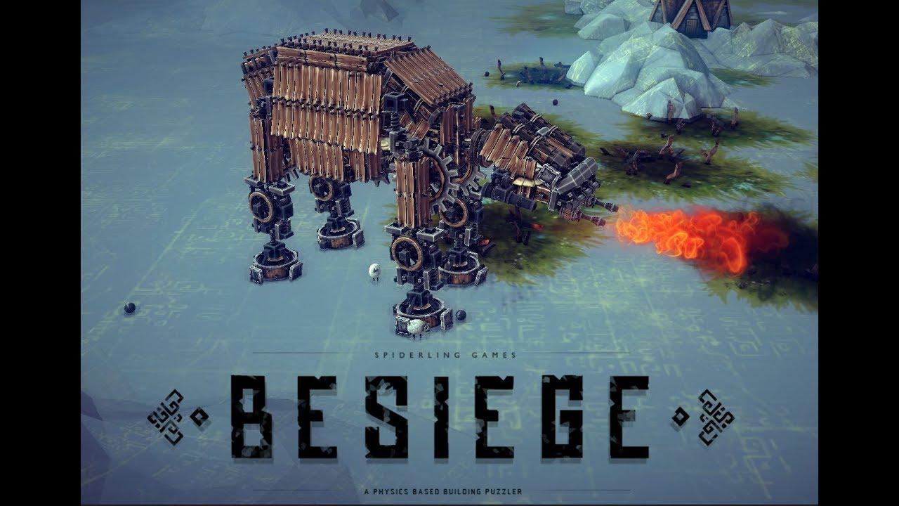 Как сделать at-at в besiege