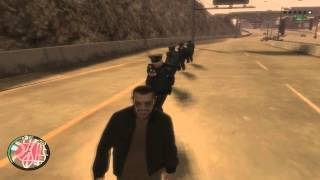GTA IV - Show da policia de Liberty city