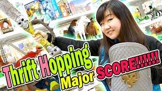 THRIFT HOPPING - Major SCORE!!!! - Disney, Littlest Pet Shop LPS, Vintage Toys & MORE!