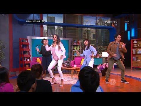 Battle Dance Sarah Sechan, Shanty & Mumu yang Bikin Ngakak