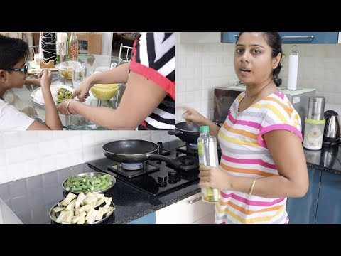 Indian Vlogger Soumali || SATURDAY ~ Very Easy and Quick Lunch Preparation