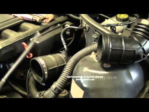 Bmw Upper Intake Boot Removal And Installation Diy M52tu