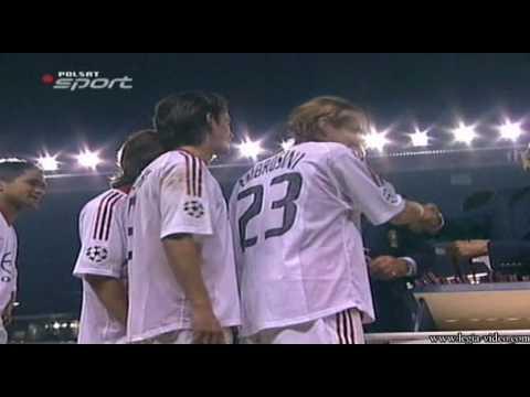 16/16 AC Milan - Juventus Turyn, Finał Ligi Mistrzów,Świętowanie , Cały Mecz