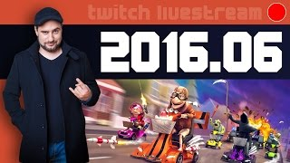Livestream 2016 #06 - News, Coffin Dodgers, Rage