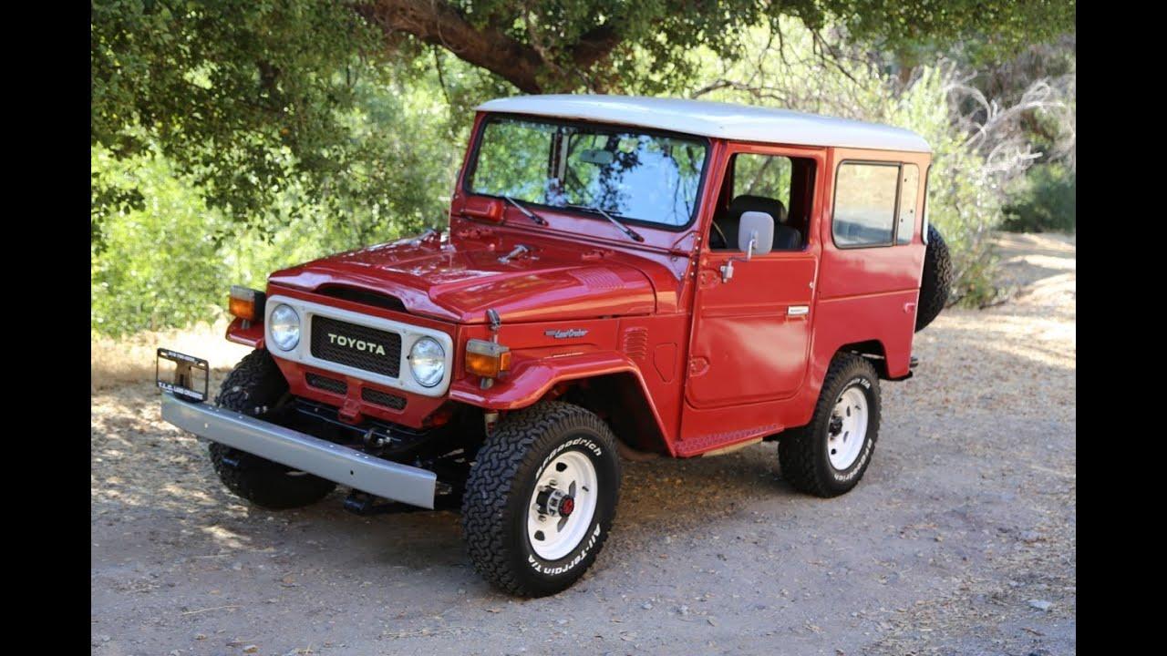 Toyota Fj40 For Sale >> 1983 Toyota Land Cruiser FJ40 TLC - YouTube