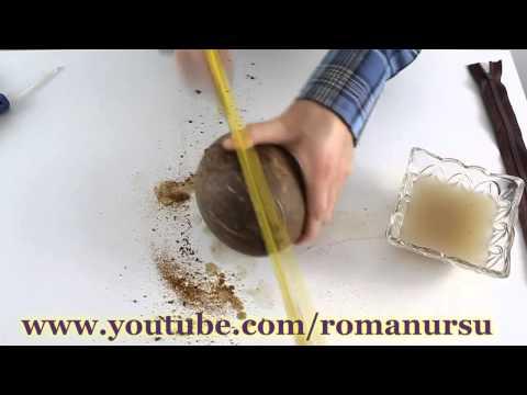 Поделки из кокоса своими руками (+ фото)