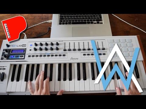 Alan Walker - Faded (Piano Tutorial) EASY