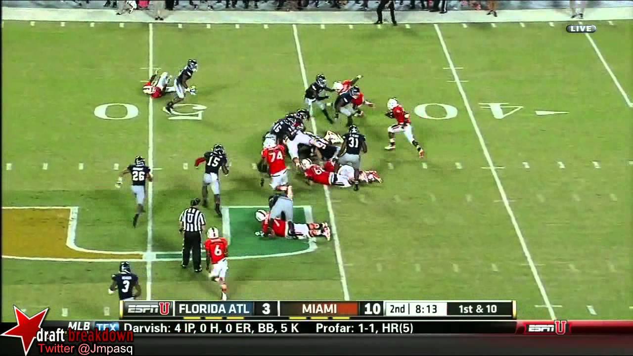Duke Johnson vs FAU (2013)
