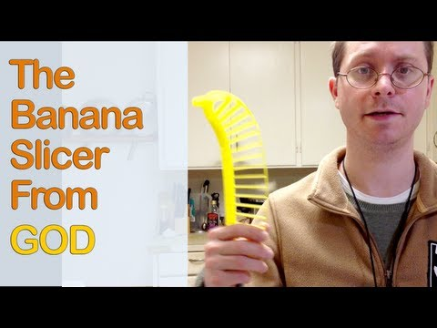 The Banana Slicer From GOD! (Parody Review)