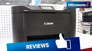 Canon Office Maxify Wireless Inkjet MFC Printer MB5160 Overview