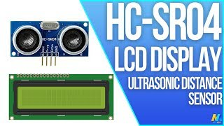 Using Ultrasonic Distance Sensor HCSR04 with LCD D