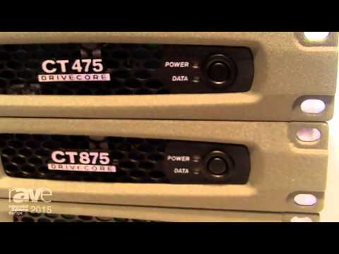 ISE 2015: Harman's Crown Shows ComTech DriveCore Series of Amplifiers