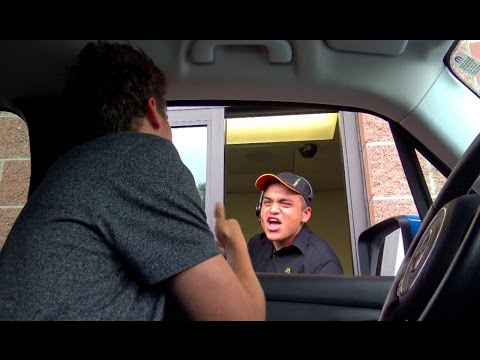 Awkward Drive Thru!