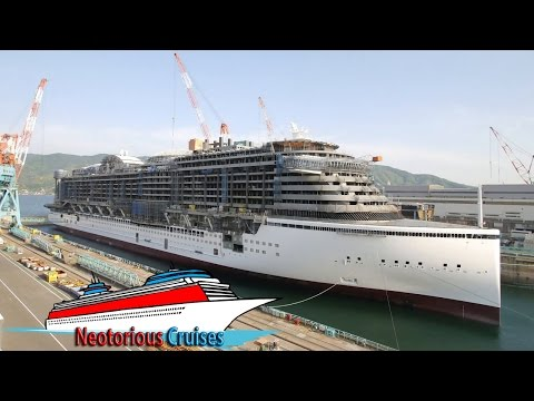 AIDAprima Cruise Ship : Full Construction Time-lapse by MKtimelapse