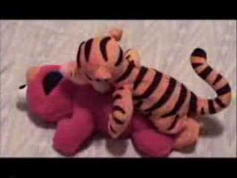 tickle me elmo humped by tigger