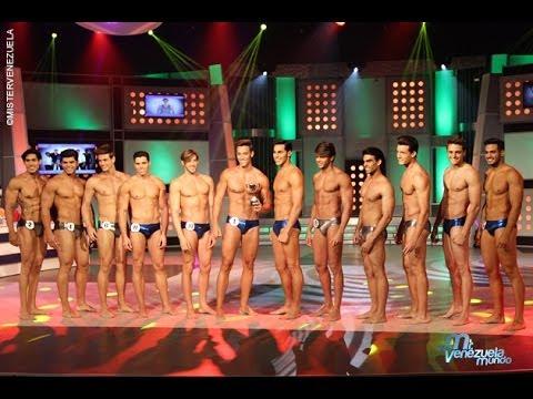 Mister Venezuela 2014 - Desfile en Traje de Baño