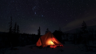 2017 - Snowshoeing & Winter Camping - Fulufjället - Sweden