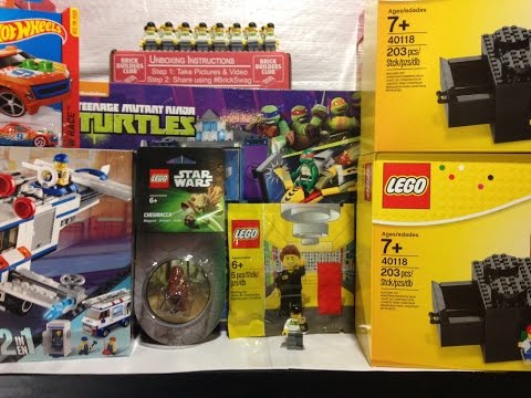 Fikin' Haul #85 Lego Shop at Home, eBay, and Walmart
