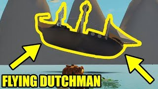 I BOUGHT the NEW FLYING DUTCHMAN BOAT in Roblox Sharkbite