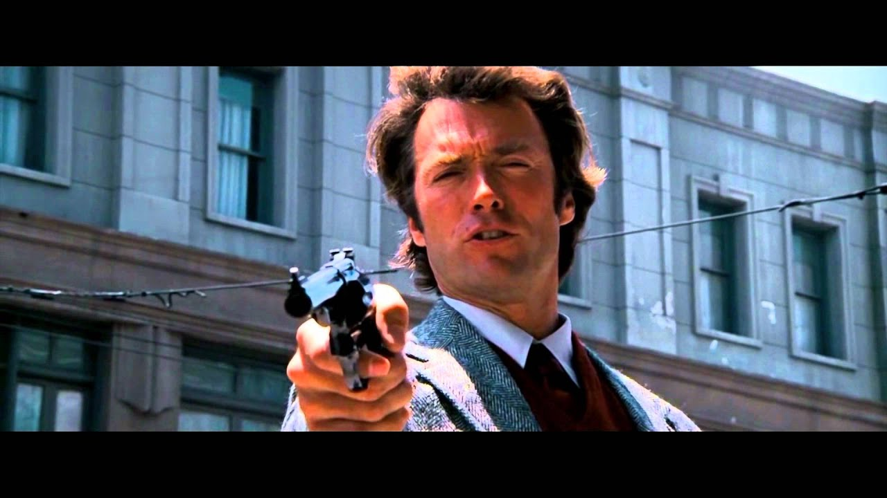Dirty harry 1971 do you feel lucky punk youtube